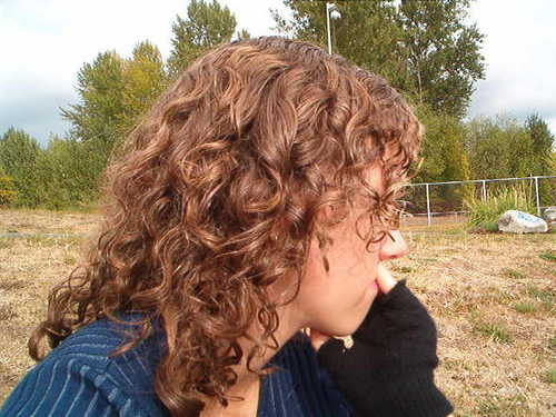 Liz - Brunette, 3a, Medium hair styles, Readers, Female, Curly hair Hairstyle Picture