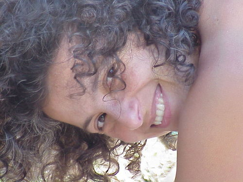 Terry Farrah - Brunette, 3c, Medium hair styles, Readers, Female, Curly hair Hairstyle Picture