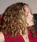 Allie - Blonde, 3b, Medium hair styles, Readers, Female, Curly hair Hairstyle Picture