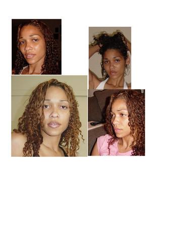 Kitalie Thurmond - Brunette, 3c, Medium hair styles, Readers, Female, Curly hair Hairstyle Picture