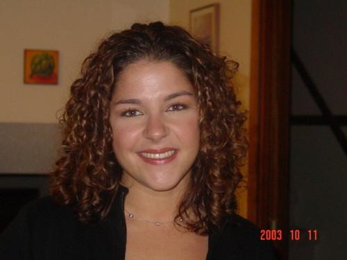 Kristen - Brunette, 3b, Medium hair styles, Readers, Female, Curly hair Hairstyle Picture