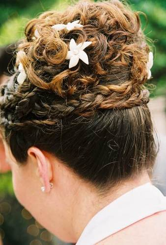 Audrey Barskey - Brunette, 3a, Updos, Long hair styles, Braids, Wedding hairstyles, Readers, Special occasion, Female Hairstyle Picture