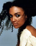 Amel Larriuex - Brunette, 3c, Celebrities, Kinky hair, Long hair styles, Female, Curly hair Hairstyle Picture