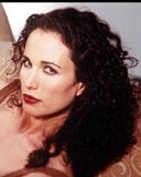 Andie MacDowell - Brunette, 3b, 3a, Celebrities, Long hair styles, Female, Curly hair Hairstyle Picture