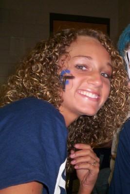 Lacey - Blonde, 3b, Medium hair styles, Readers, Curly hair, Teen hair Hairstyle Picture