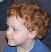 Curly Red - Redhead, 3a, Short hair styles, Kids hair, Readers, Curly hair Hairstyle Picture