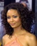 Thandie Newton - Brunette, 3a, Celebrities, Long hair styles, Female, Curly hair Hairstyle Picture