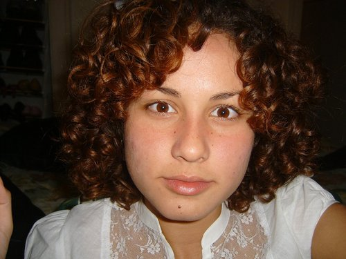 Alejandra - Brunette, 3b, Medium hair styles, Readers, Female, Curly hair Hairstyle Picture