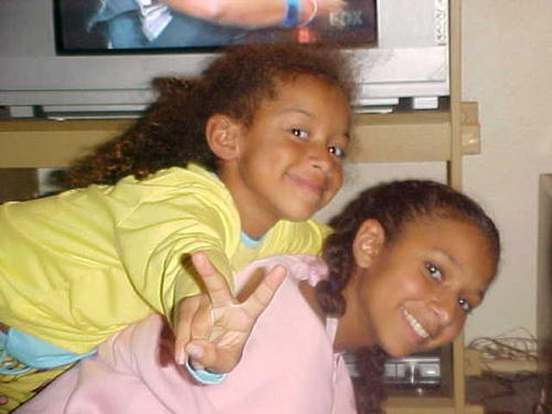 Jaylen & Jordan - Brunette, 3c, Kids hair, Long hair styles, Braids, Readers, Curly hair Hairstyle Picture