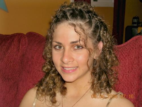 Miranda - Blonde, 3b, 3c, Medium hair styles, Updos, Readers, Curly hair, Teen hair Hairstyle Picture