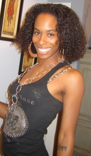 Gabbi - Brunette, 4a, Short hair styles, Kinky hair, Readers, Female, Curly hair Hairstyle Picture