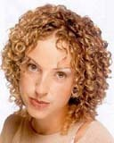 jamie-lee neilson - Blonde, 3c, Short hair styles, Readers, Female, Curly hair Hairstyle Picture