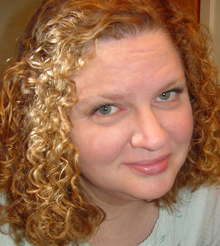 Linda - Redhead, 3b, 3c, Medium hair styles, Readers, Female, Curly hair Hairstyle Picture