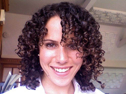 Jaime - Brunette, 3c, Medium hair styles, Readers, Female, Curly hair Hairstyle Picture