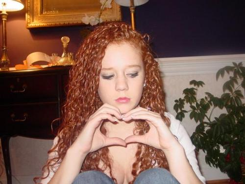 Casey - Redhead, 3b, Long hair styles, Readers, Curly hair, Teen hair Hairstyle Picture