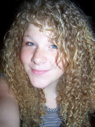 Madison - Blonde, 3b, Kids hair, Long hair styles, Readers, Curly hair Hairstyle Picture