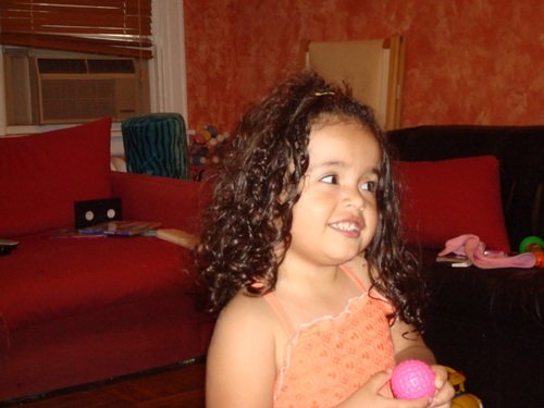 DAVANI - Brunette, Kids hair, Long hair styles, Readers, Curly hair Hairstyle Picture