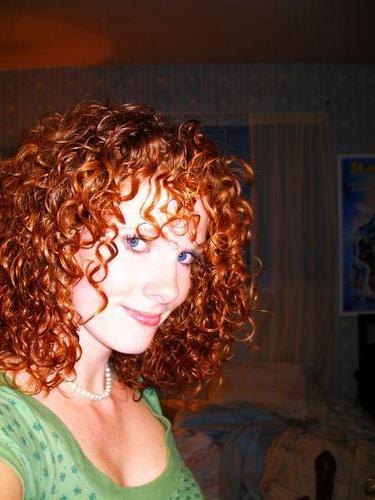 Allie - Redhead, 3b, Medium hair styles, Readers, Female, Curly hair Hairstyle Picture