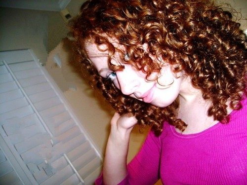 Allison - Redhead, 3b, Medium hair styles, Long hair styles, Readers, Curly hair, Teen hair Hairstyle Picture