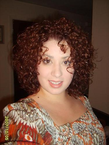 Erienne - Redhead, 3a, Medium hair styles, Readers, Female, Curly hair Hairstyle Picture