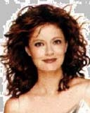 Susan Sarandon - Redhead, 3a, Celebrities, Long hair styles, Female, Curly hair Hairstyle Picture