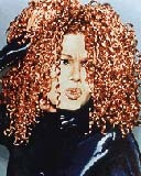 Janet Jackson - Redhead, 3c, Celebrities, Kinky hair, Long hair styles, Female, Adult hair, Layered hairstyles Hairstyle Picture