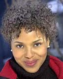 Kerry Washington - Brunette, 4a, Celebrities, Short hair styles, Kinky hair, Female, Adult hair Hairstyle Picture