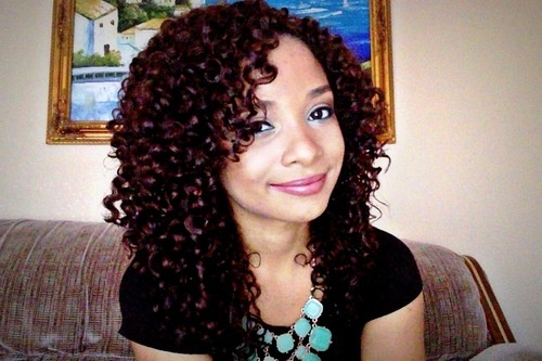 Successful Wash and go! - Brunette, 3c, Medium hair styles, Long hair styles, Readers, Female, Curly hair, Makeovers, Adult hair Hairstyle Picture
