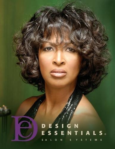 Design Essentials - Brunette, Medium hair styles, Kinky hair, Styles, Female, Curly hair, Curly kinky hair Hairstyle Picture