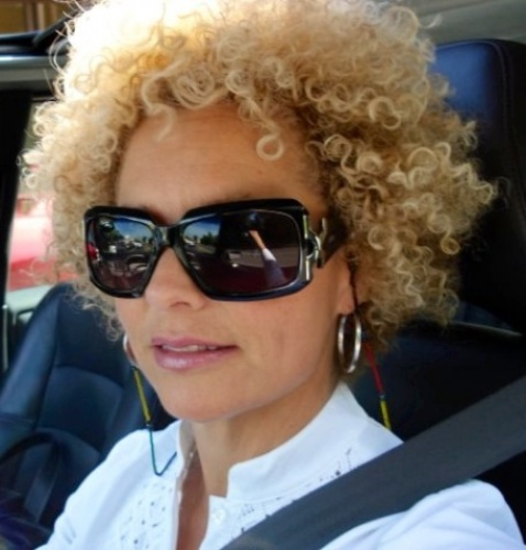My blonde natural curls - Blonde, 3b, 3c, 4a, Mature hair, Short hair styles, Readers, Curly hair, Curly kinky hair Hairstyle Picture
