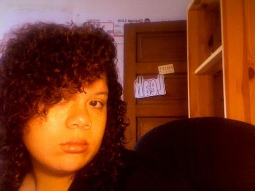My wet hair - Brunette, 3c, Medium hair styles, Readers, Female, Teen hair, Pin curls Hairstyle Picture