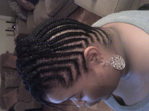 Cornrow Design By Naptruallyours