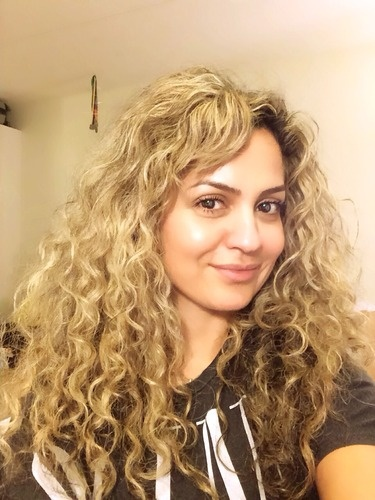 When I let my hair be, 3rd day curls!  - 3b, Long hair styles, Readers, Female, Adult hair, Spiral curls Hairstyle Picture