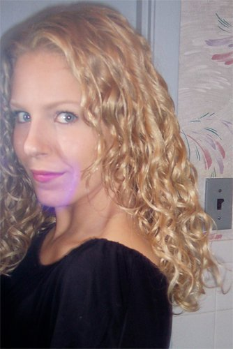 curly waves! - Blonde, 3a, Long hair styles, Readers, Female, Curly hair, Adult hair Hairstyle Picture