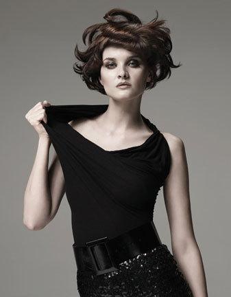 Sebastian Fall 2009 - Brunette, Wavy hair, Short hair styles, Styles, Female Hairstyle Picture