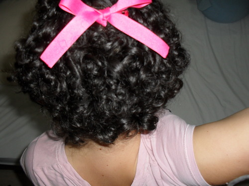 My sort black hair - 3b, Short hair styles, Readers, Female, Teen hair, Black hair, Spiral curls Hairstyle Picture