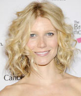 Gwyneth Paltrow - Blonde, 3a, Celebrities, Medium hair styles, Female, Curly hair Hairstyle Picture