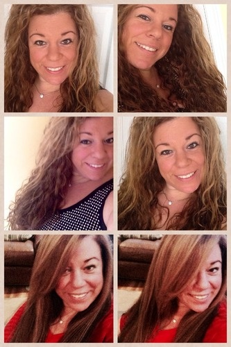 Natural or straight? - Long hair styles, Readers, Female, Curly hair, Makeovers, Straight hair Hairstyle Picture