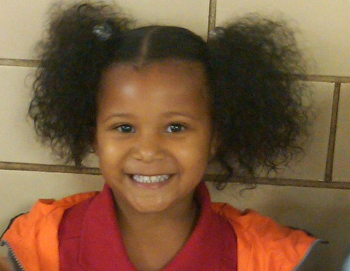 A'daja - 3c, 4a, Medium hair styles, Kids hair, Afro, Readers, Black hair, Pigtails Hairstyle Picture