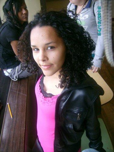 good day - Brunette, 3b, 3c, Medium hair styles, Long hair styles, Readers, Styles, Female, Curly hair, Teen hair, Black hair, Formal hairstyles Hairstyle Picture