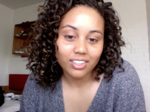 World of 3b curls - Brunette, 3b, Short hair styles, Female, Adult hair, Bantu knot out Hairstyle Picture