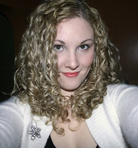 Holiday Hair - Blonde, 3b, Medium hair styles, Readers, Female, Adult hair, Spiral curls Hairstyle Picture