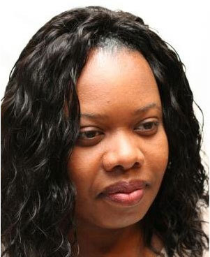 Net Sew-in Weave - Wavy hair, Medium hair styles, Styles, Female, Black hair, Adult hair, Weave hairstyles Hairstyle Picture