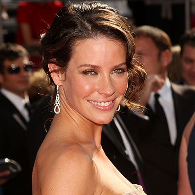 Evangeline Lilly - Brunette, 2b, Updos, Long hair styles, Female Hairstyle Picture