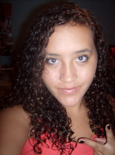 My Curly Hair :) - Brunette, 3b, Long hair styles, Readers, Female, Curly hair, Teen hair, Black hair, Spiral curls, Natural Hair Celebration Hairstyle Picture