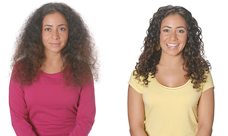 Ouidad Makeover for Dry Curls - Brunette, 3a, Long hair styles, Female, Curly hair, Makeovers Hairstyle Picture