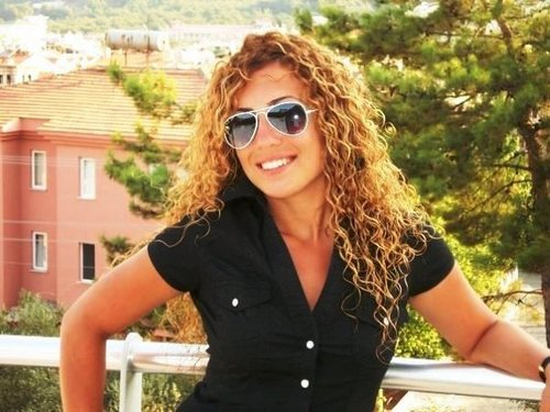 love my curlss - Brunette, Blonde, Long hair styles, Readers, Female, Curly hair, Adult hair Hairstyle Picture