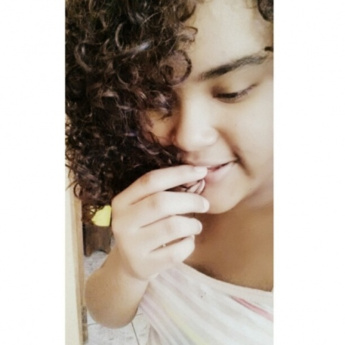 my hair - Brunette, 3b, 3a, Medium hair styles, Female, Teen hair, Homecoming hairstyles, Knots, Curly kinky hair Hairstyle Picture