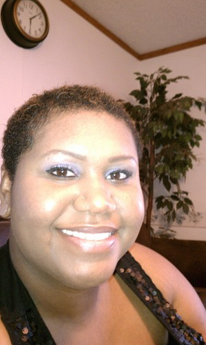 my big chop - Brunette, 4a, Very short hair styles, Female, Makeovers, Adult hair, Teeny weeny afro Hairstyle Picture