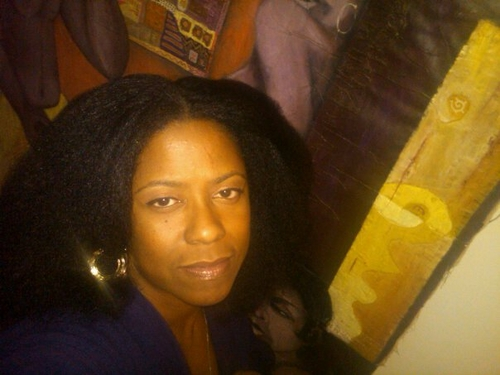 My fro blown out - 4b, Medium hair styles, Kinky hair, Afro, Readers, Styles, Female, Black hair, Adult hair Hairstyle Picture
